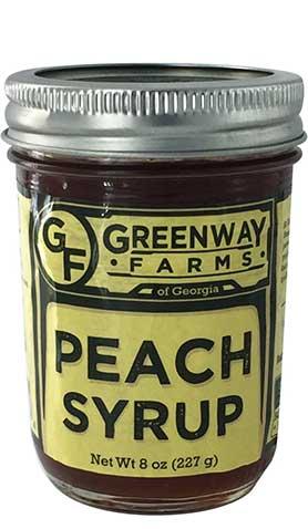 peach-syrup